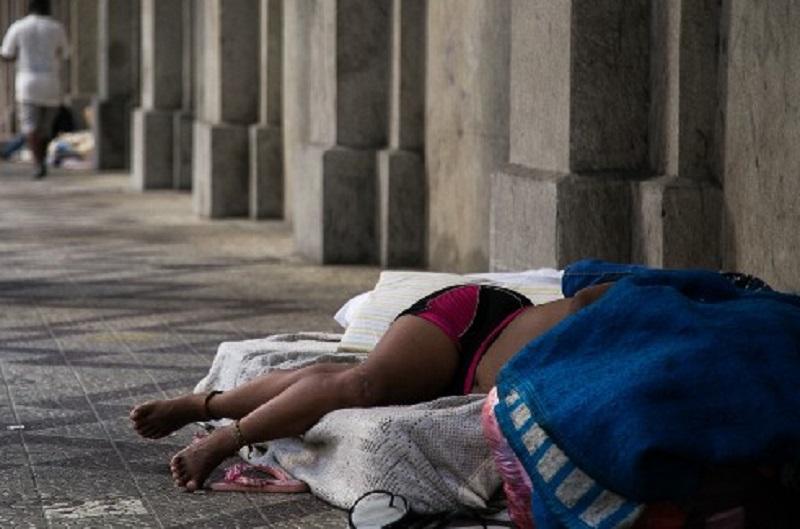Ser mulher em situação de rua em meio àpandemia