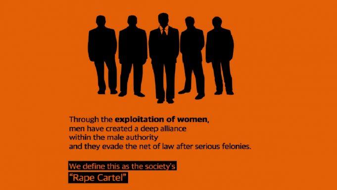As mulheres são reféns: manifestações contra o cartel de estupro na Coreia doSul