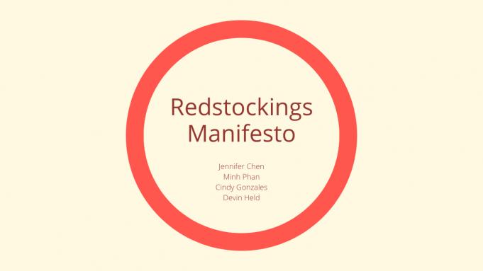 MANIFESTO REDSTOCKINGS