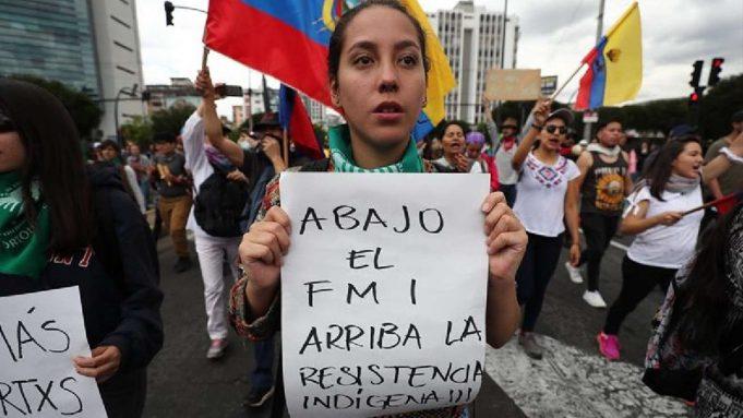 Mulheres latino-americanas e a crise