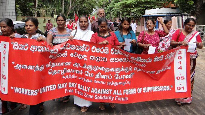 Sri Lanka: Organização de Mulheres Trabalhadoras na Zona Franca